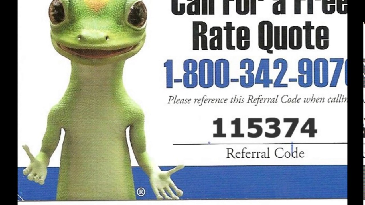 Geico Free Quote Geico Insurance Quote Online  Youtube
