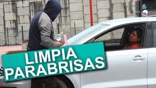 LimpiaParabrisas Cobrando Caro BROMA!!