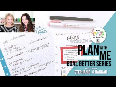 Plan With Me - Goal Getter Series // Part TWO!