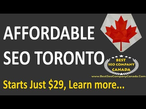 Affordable SEO Services | SEO Services Toronto | Affordable SEO Toronto | Search Engine Optimization