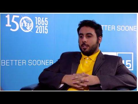 ITU TELECOM WORLD ENTREPRENEURSHIP AWARD 2015 INTERVIEW:  Khalid A  Alnasser, Founder, CEO, PRACTECH