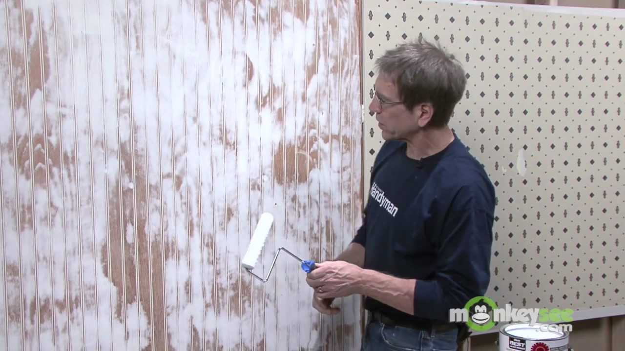Painting Over Existing Wall Coverings Youtube