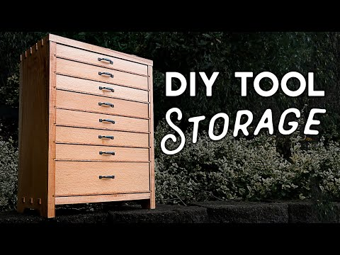 Small Tool Chest Build Equals BIG TIME Workshop Storage | Woodworking