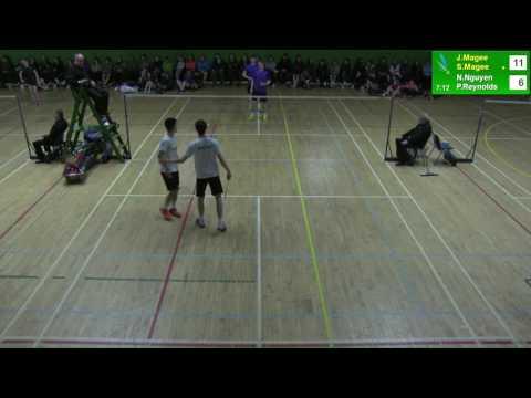 Irish Senior Nationals Finals - MD - J.Magee/S.Magee v N.Nguyen/P.Reynolds