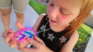 New Magic Necklace And A Tour Of The Holladay Boys Backyard Adley And Friends