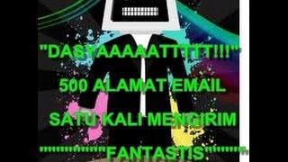 Video Cara Random 500 Alamat Email From Spesialis Lamaran Email (Fadlan S)
