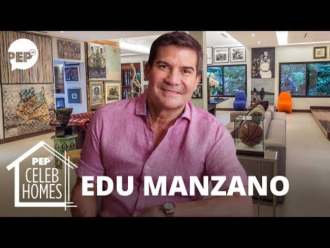 Edu Manzano's house has stunning art pieces | PEP Celeb Homes