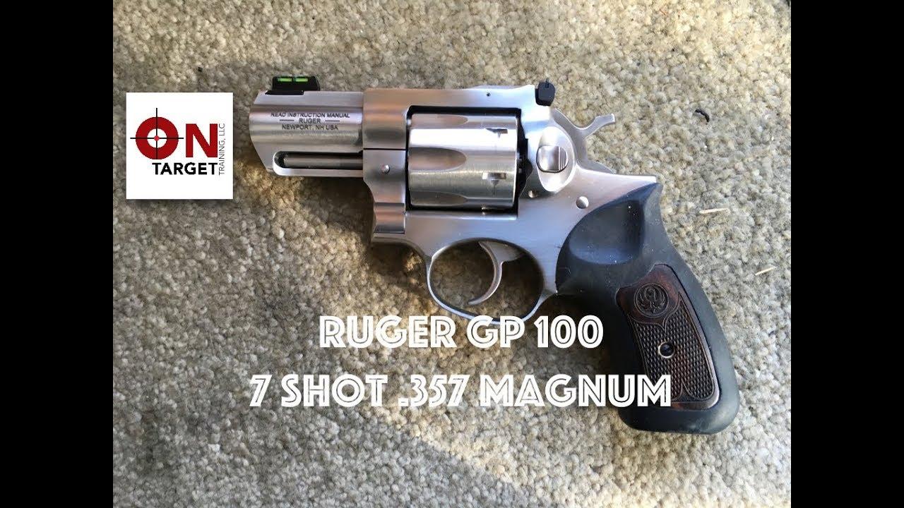 New Ruger Gp 100 7 Shot 357 Revolver