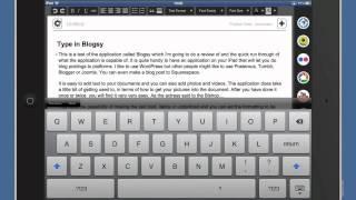 Blogsy iPad Blogging Tool