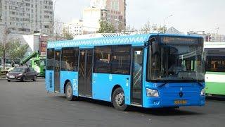 Поездка на автобусе ЛиАЗ-4292.60 (Группа ГАЗ) ТС 822 77 Маршрут № 448 Москва