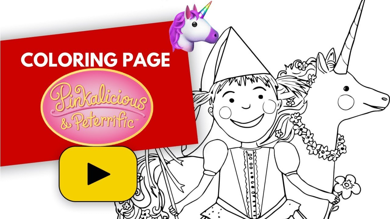pinkalicious coloring pages # 42