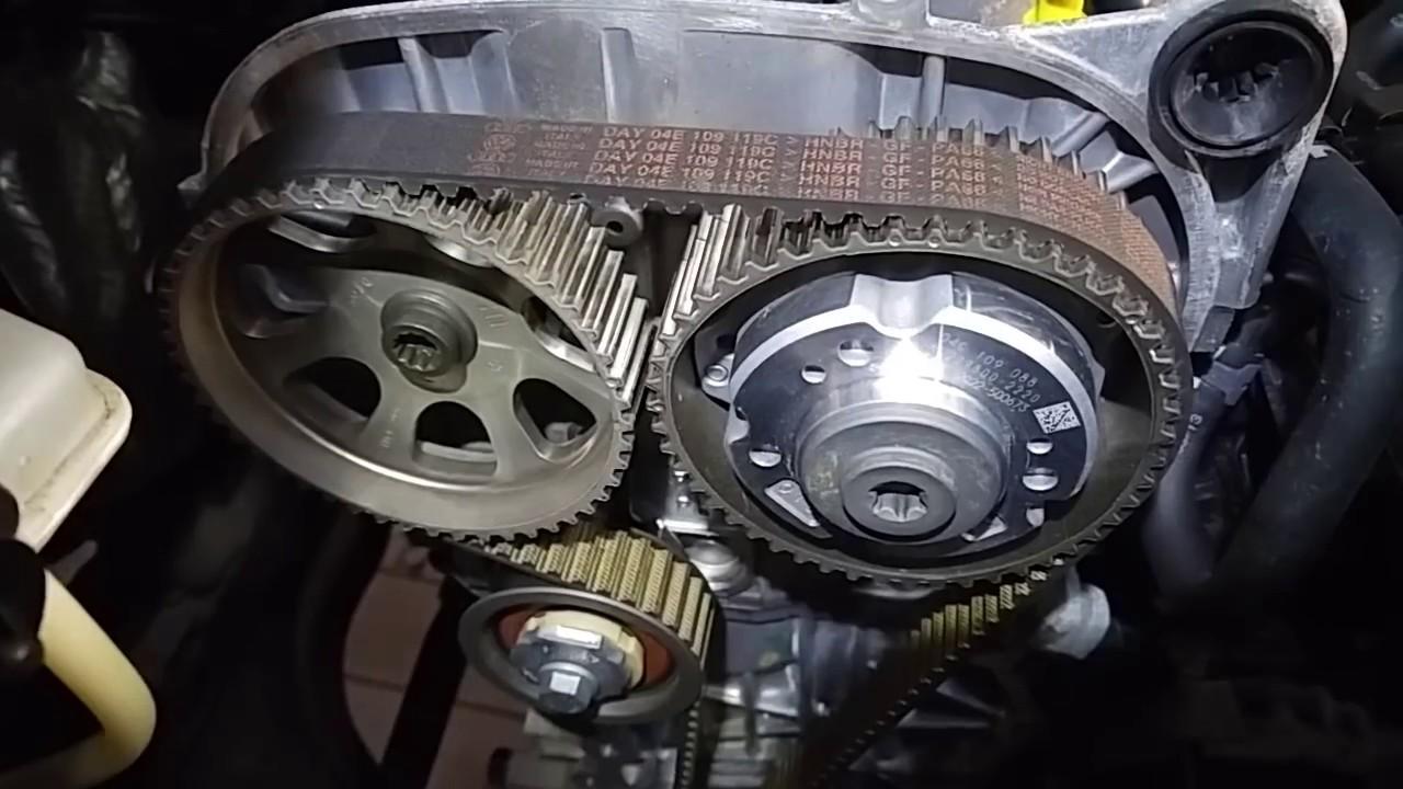 Vw Polo Up 1 0 MPi wymiana paska rozrz du Silnik CHYB
