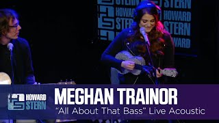 "Meghan Trainor Performs ""All About That Bass"" Acoustic with a Ukulele"