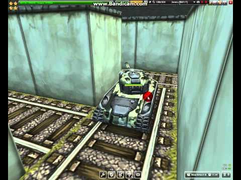 Прохождение лабиринта в игре Танки онлайн на карте Оса!