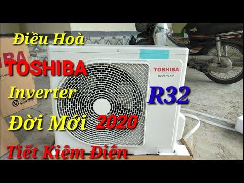 Mẫu Điều Hoà TOSHIBA Inverter 9000btu Đời Mới 2020//Máy Lạnh Toshiba Đẹp Giá Rẻ Tiết Kiệm Điện R32