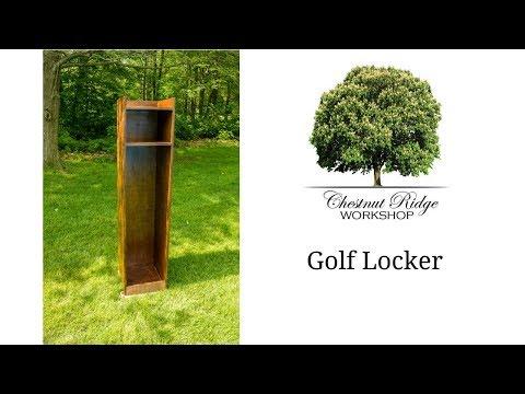 DIY Golf Locker - How to Build - Woodworking