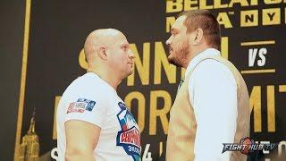 Fedor Emelianenko vs Matt Mitrione Full Face Off video
