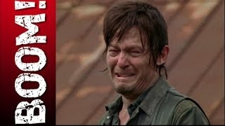 Why so sad Daryl? Can you stab a ZOMBIE through the eye with a CROSSBOW BOLT, or not?