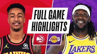 Game Recap: Hawks 99, Lakers 94