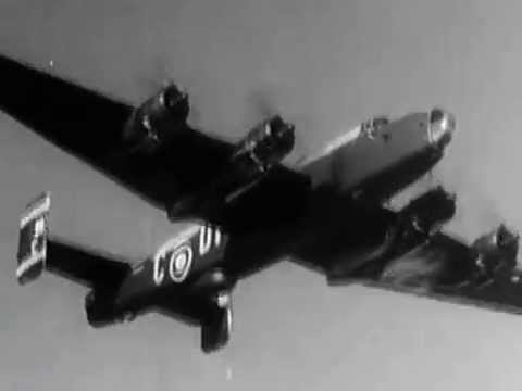 No 102 Squadron RAF Halifax VI, No 4 Group Bomber Command 1944-45