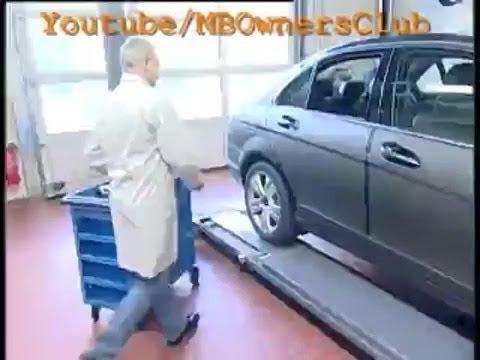 Mercedes-Benz C-Class | Removing the fuel level sensor (W204)