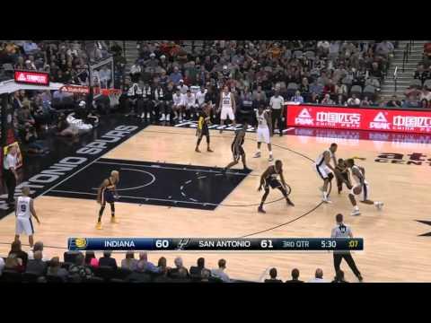 Indiana Pacers vs San Antonio Spurs   December 11, 2015   NBA 2015-16 Season