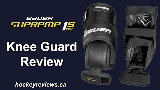 Bauer Supreme 1S OD1N Knee Guard Review