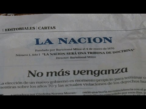 Argentina daily shocks with call to scrap 'dirty war' trials