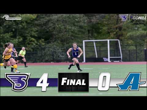 Stonehill Field Hockey vs. Assumption College Highlights and Postgame Interviews