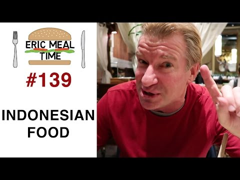 Balinese Food In Tokyo - Eric Meal Time #139