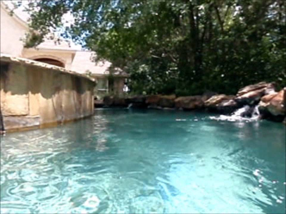 Backyard Lazy River II - YouTube
