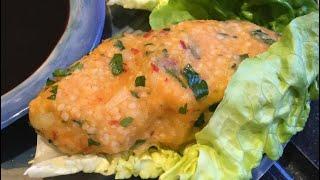 Potato and bulgur patties; Patatesli, bulgurlu köfte
