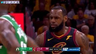 LeBron James Full Highlights 2018 ECF GM3 Cleveland Cavaliers vs Celtics   27 12 2!