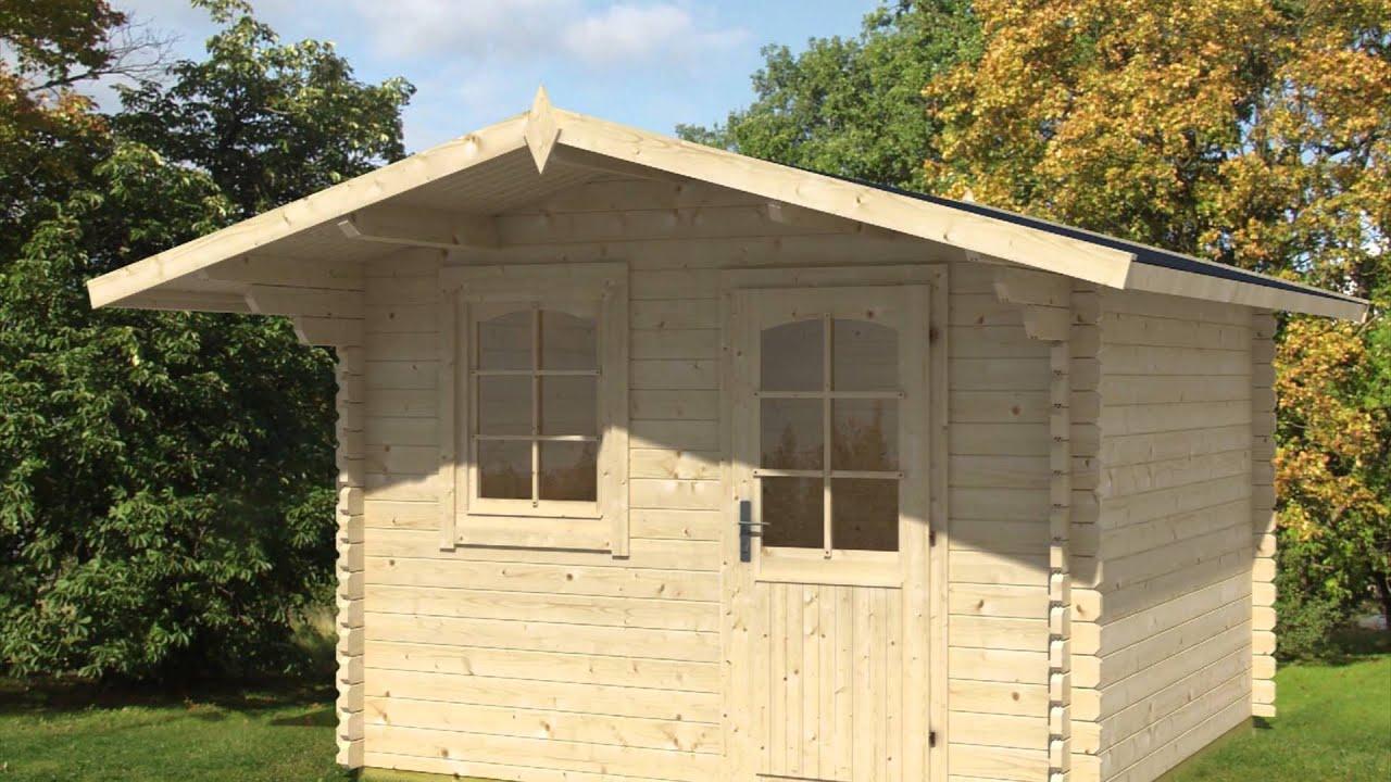 Casas de madera casetas de jard n y casas infantiles de for Casetas de madera prefabricadas leroy merlin