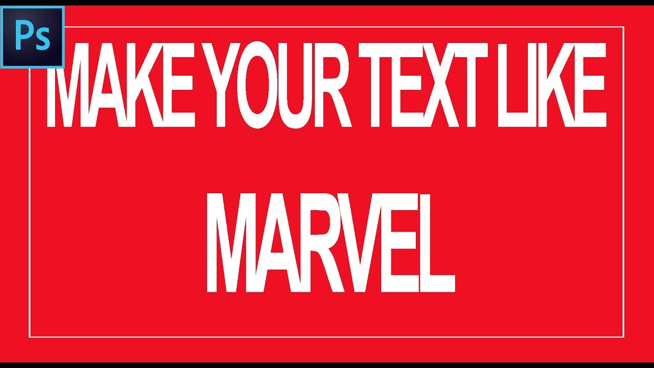 Marvel Font