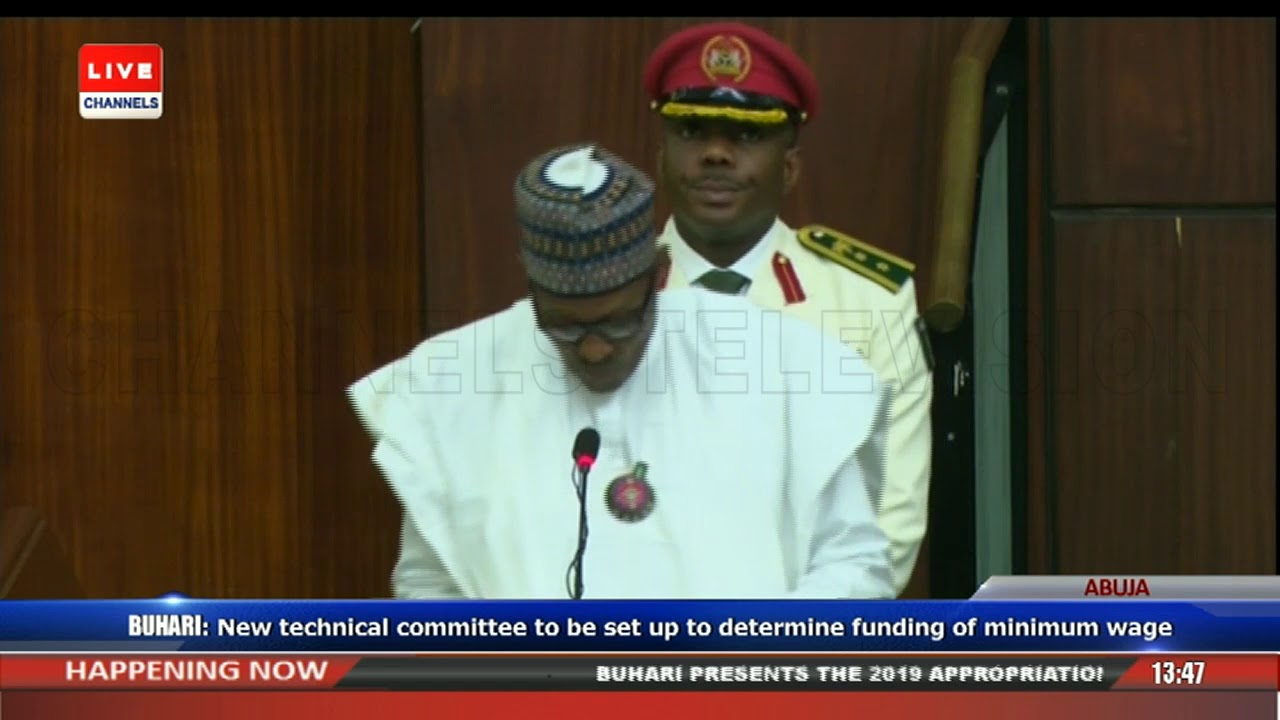 President Buhari Presents 2019 Appropriation Bill To NASS Pt.4 |Live Event|