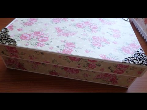 Let S Make A Chipboard Box With A Lid Youtube