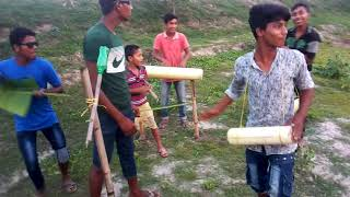 Bangla funny songs Dance  village boy.