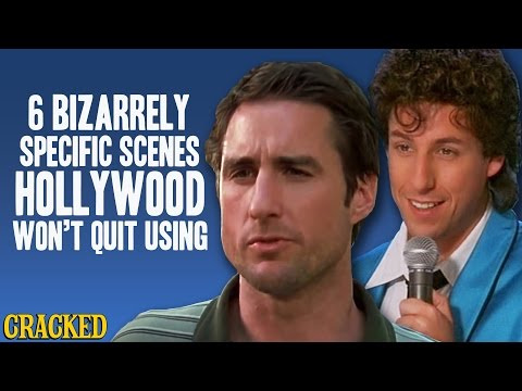 6 Bizarrely Specific Scenes Hollywood Wont Quit Using - Obsessive Pop Culture Disorder