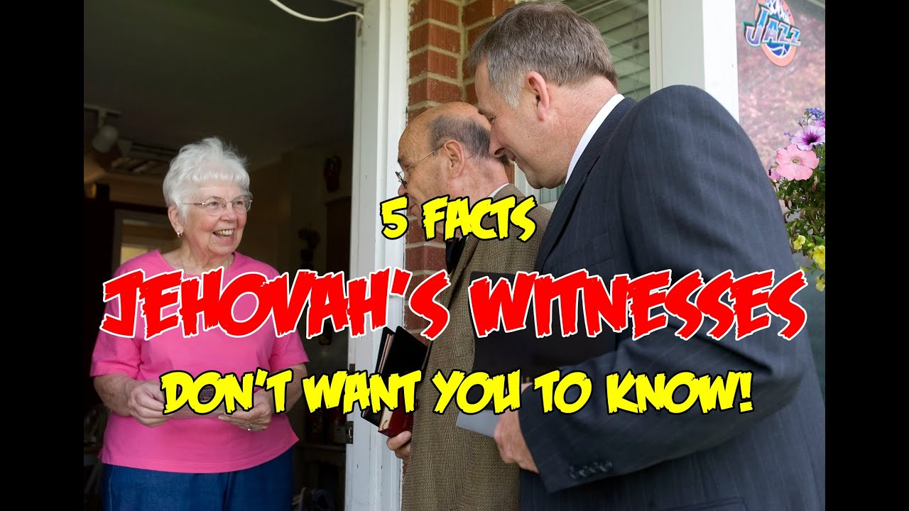 Jehovah S Witness Toy : Facts jehovah s witnesses don t want you to know