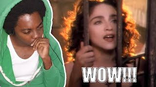 THIS GAVE ME CHILLS!!! Madonna - Like A Prayer (REACTION!!!)