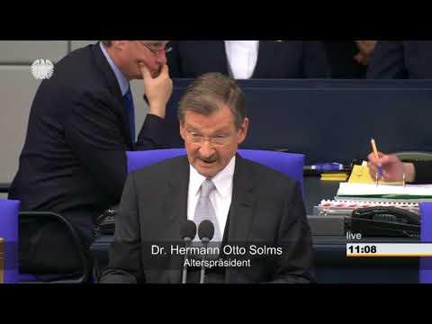 Bundestag: Das neue Parlament kommt zur 1. Sitzung zusammen