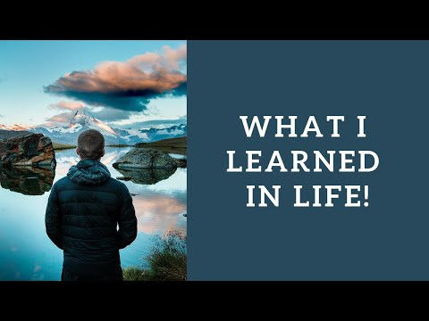 What I learned in life is.....(Poem about Life by Paulo Coelho )
