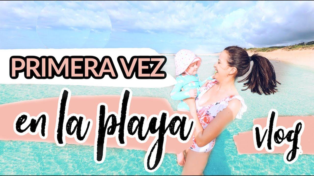 Bebé Visita por Primera Vez la Playa | VLOG ☀️