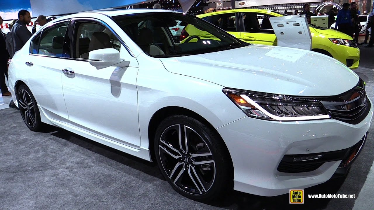 Honda Accord Touring Exterior And Interior Walkaround - Accord vehicle