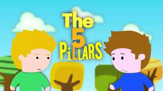 The 5 Pillars of islam 1st episode animated   IN ENGLISH.