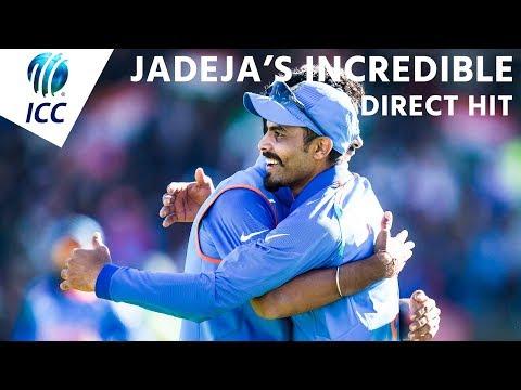 Jadeja's superb direct hit! - #INDvPAK Nissan Play of the Day #CT17