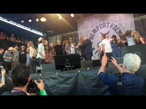 "John Prine and Friends ""Paradise"" 2017 Newport Folk Festival"