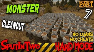 MONSTER CLEAN OUT | GOLD RUSH THE GAME | HARD MODE PART 7