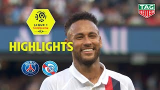 Paris Saint-Germain - RC Strasbourg Alsace ( 1-0 ) - Highlights - (PARIS - RCSA) / 2019-20